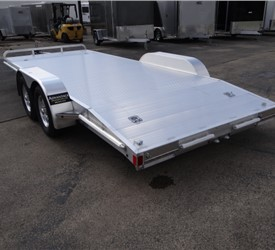 All Aluminum Open Car Hauler 8.5' x 18'