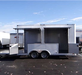 16' Concession Trailer Ready to take YOUR PRODUCTS to your customers