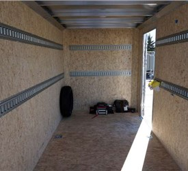Enclosed Cargo Trailer for Concrete Flooring and Surface Preparation Equipment Supplier