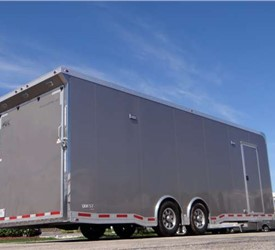 Custom 26' Light Pewter Enclosed Car Hauler