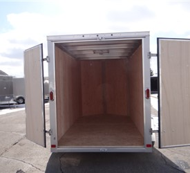 Custom Built 6' x 12' Outreach Trailer