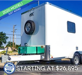 ATC Fiber Splicing Trailer with 4k Generator
