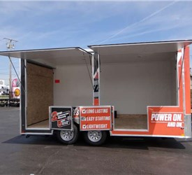 8.5' x 16' Mobile Outdoor Power Tool Show Room
