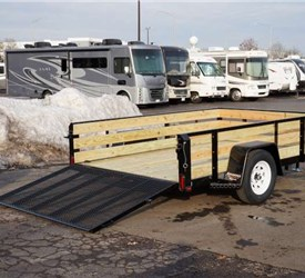 Remodeling Contractor Utility Trailer