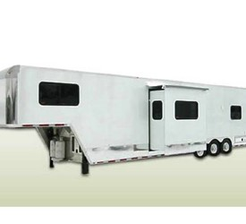 ATC Aluminum T6 Toy Hauler with Slide-Out Trailer with Living Quarters