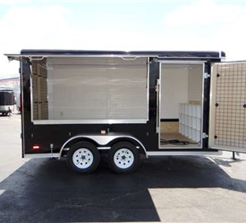 Enclosed Vending trailer for a Regional Youth Football League