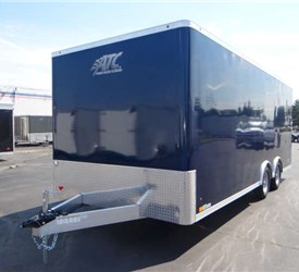 High School Marching Band Uniform Trailer