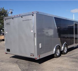 Custom Two-Tone Exterior Car Hauler