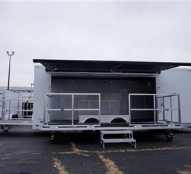 24' Trailer with 15' Wide Fold-Out Stage