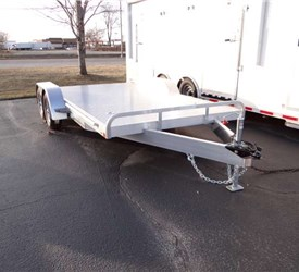 8.5' x 16' All Aluminum Open Car Hauler