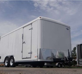 Custom Contractor Supply Trailer