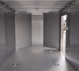 Custom Enclosed Cargo Trailer Sized to Fit Into Garage