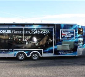 24' Mobile Marketing Solution to Showcase Standby Power Generators