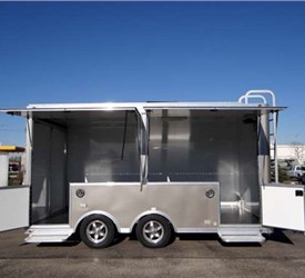 Custom Enclosed Product Display Trailer to Fit Your Needs