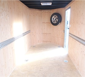 Custom 6' x 12' Enclosed Trailer