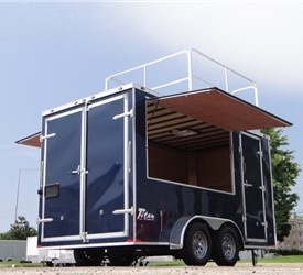 Custom Football Concession Trailer