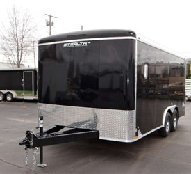 USED 8.5' x 16' Landscape Trailer with Upgraded Frame Package