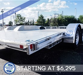 MTI 8.5'x18' All-Aluminum Open Car Hauler