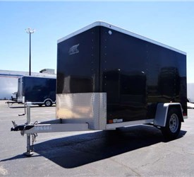 USED 2015 ATC Raven 5' x 10' Enclosed Cargo Trailer