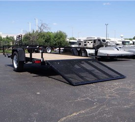 6' x 12' Tube Top ATV / Utility Trailer