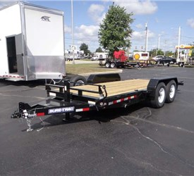 Sure Trac Trailers Open Utility And Hauler Trailers