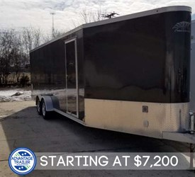 USED 22' Snowmobile Trailer