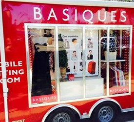 Mobile Clothing Retail Store