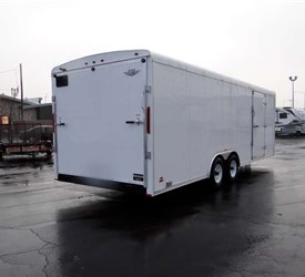 Custom Plumbing Contractor Job Site Trailer