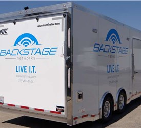 20 Foot Mobile Live IT Event Command Post
