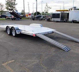 8.5' x 20' All Aluminum Open Car Hauler
