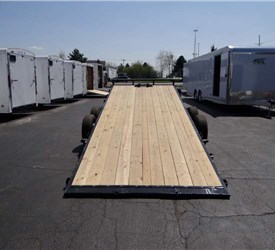 7' x 20' Hydraulic Tilt Bed Trailer