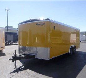 Custom 20' Enclosed Trailer for a Local Public Transportation Project