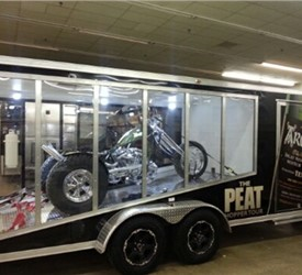 7' x 18' Glass Sided Marketing Tour Trailer