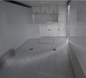 Custom 28' Car Hauler with Custom Outfitted Flooring