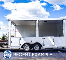 Stealth 16-Foot Marketing Trailer/Mobile Retail Trailer
