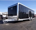 Black 24' ATC Enclosed Car Hauler With Finished Interior