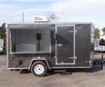 6' x 12' Custom Cupcake Concession Trailer
