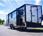 Stealth Nomad 24' Toy Hauler - Metallic Pewter