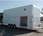 28' Aluminum Car Hauler Stacker Trailer