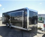 Custom Black 8.5' x 24' Stage Trailer / Mobile Field Office