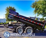 Sure-Trac 7'x12' Heavy Duty Low Profile Dump Trailer - Recent Example