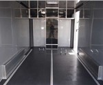 7' x 14' Quest Motorcycle Trailer built by ATC