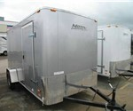 Motiv By A.T.C Enclosed Cargo Trailer 6' x 12' 2011