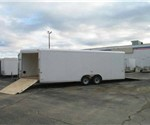 Aluminum Enclosed Car/SnowMobile Trailer
