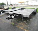 DELUX OPEN CAR TRAILER 8.5X18'