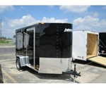 Motiv RSX Cargo Trailer With Swing Doors 6'x10'+Wedge