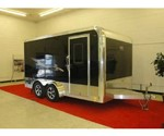 GTS Special Edition Enclosed Motorcycle Trailer 7.5' x 14'