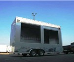 Custom Built Concession & Marketing Trailer w/Roll-up Doors