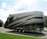 ATC 24' Aluminum Car Hauler Stacker Trailer