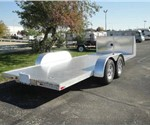 ATC Aluminum Open Car Hauler Trailer with Front Cabinet